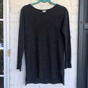Halogen cashmere blend tunic sweater